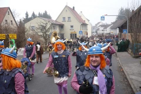 2009-02-07 Umzug Waldburg und Hausball Wolpertswende