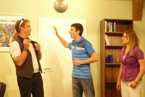 Theater 2011 - Der Schneckenprofessor